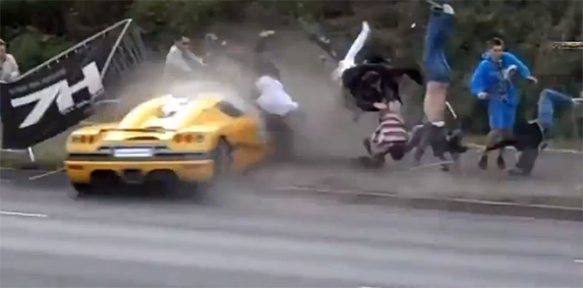 video accidente auto: