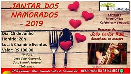 Jantar dos Namorados 2019