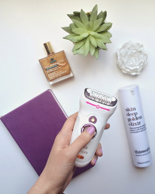 braun silk epil 9 epilator review, smooth legs, hair removal, beauty blogger, summer ready legs