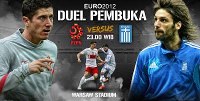 Prediksi Pertandingan Polandia vs Yunani Euro 8 Juni 2012