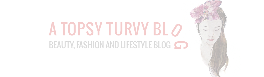 A Topsy Turvy Blog