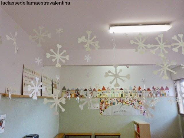 La classe della maestra valentina tanti fiocchi di neve for Maestra gemma schede inverno