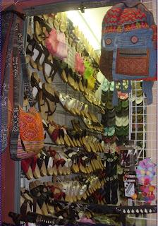 Night market shop in Bangkok