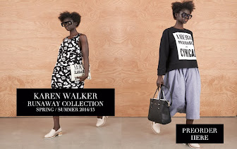 KAREN WALKER - SPRING/ SUMMER 2014/15 PREORDER NOW!