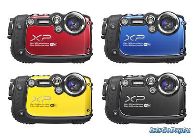 Kamera Fujifilm. Seri FinePix XP200
