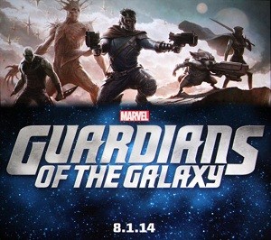 Guardians of the Galaxy Marvel Studios 2014