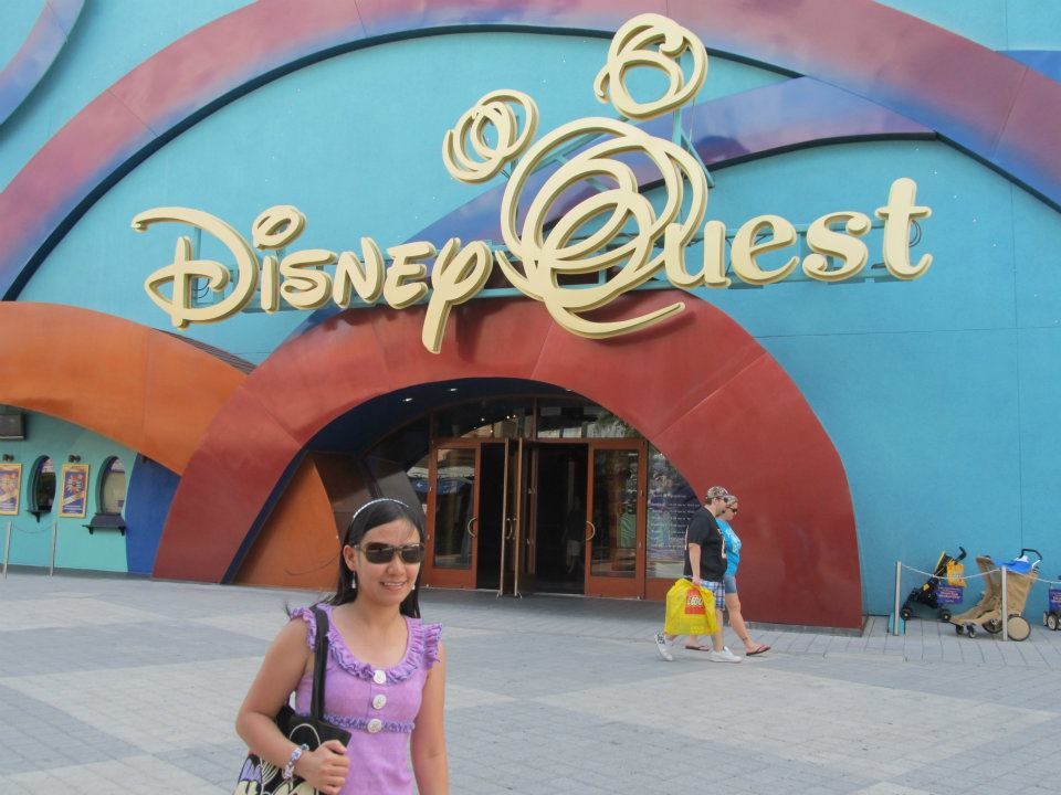 Disney Quest Downtown Disney