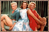 Betty Gable ,Lauren Bacall.Marylin Monroi