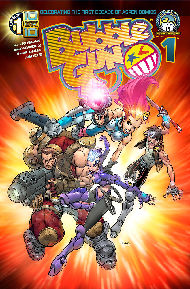 "Aspen's Fifth ""10 for 10"" Title Is The All New Series BubbleGun"