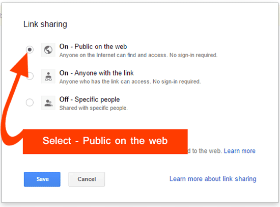 Select Public On The Web