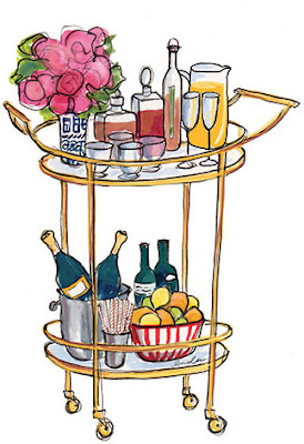 The search for the perfect bar cart…