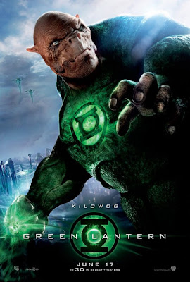 Green Lantern Character Movie Poster Set - Kilowog