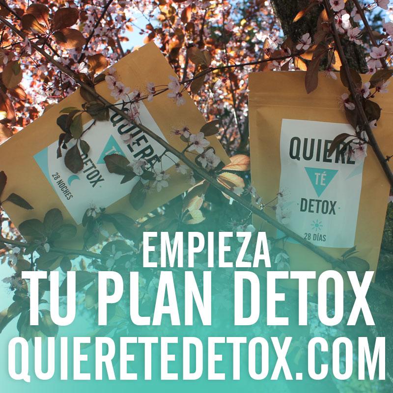 Apúntate al plan detox