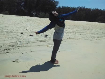 pantai air tawar besut terengganu, pantai cantik terengganu, tempat menarik di terengganu