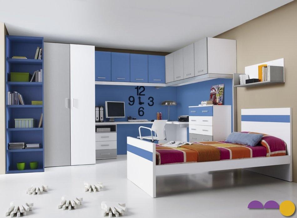 Muebles la liberal c mo amueblar una habitaci n juvenil for Como aprovechar espacios pequenos habitacion