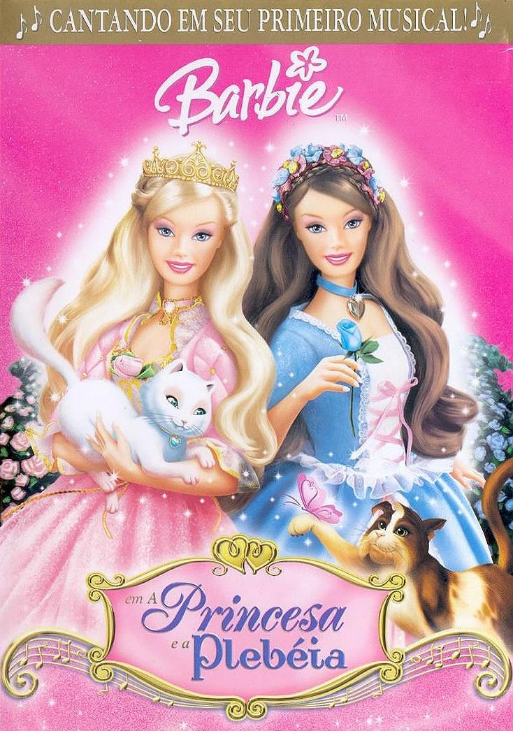 Barbie em a Princesa e a Plebéia – Dublado (2004)