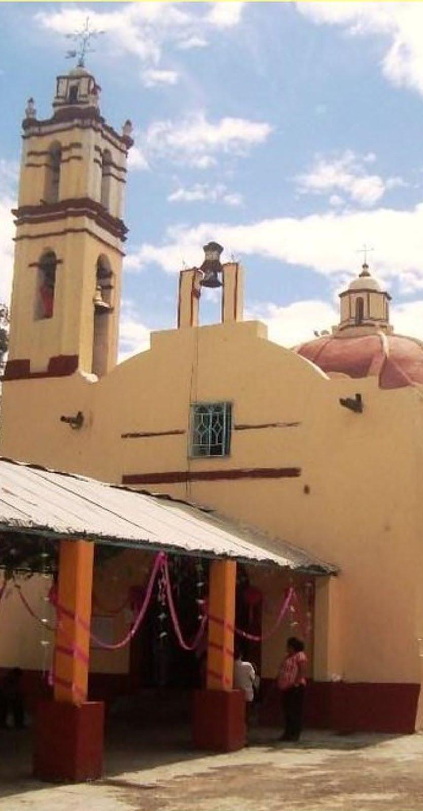 El templo de San Juan Bautista, en Tezompa