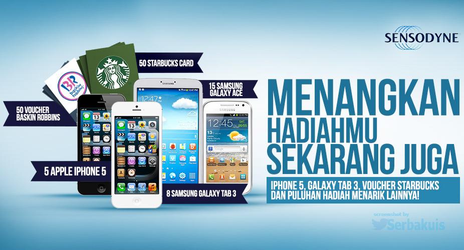 Kontes Testimonial Berhadiah 5 iPhone 5
