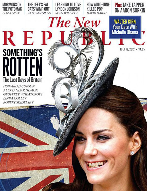 Kate Middleton - The New Republic - Dentes podres