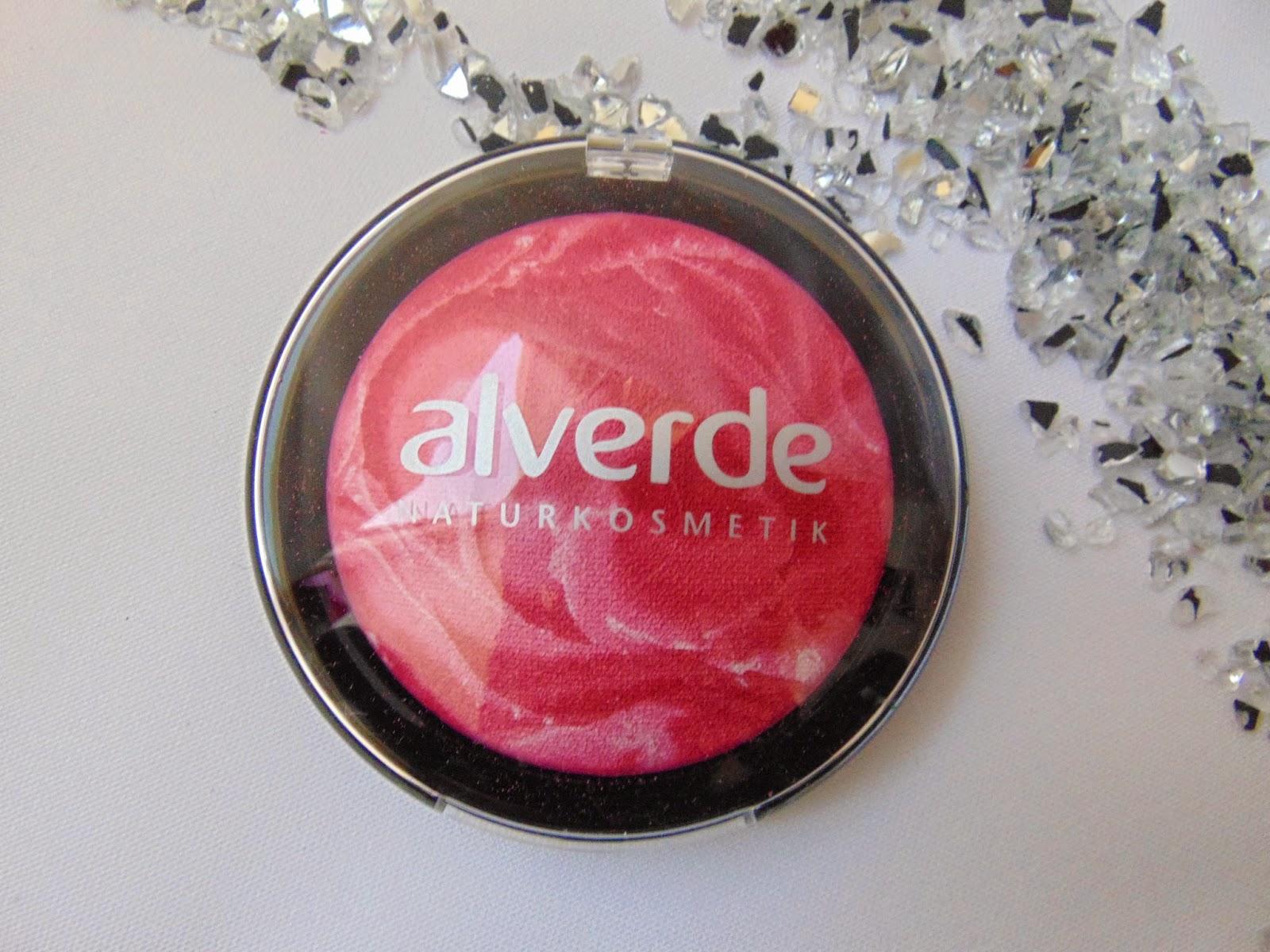 Alverde LE - Faboulus Fifties - Gebackenes Rouge – Lolli Pink 20 - www.annitschkasblog.de