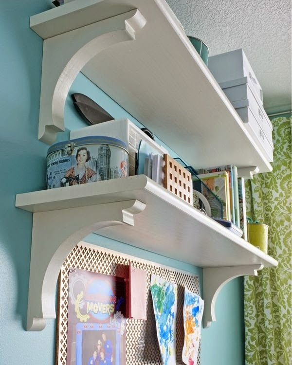 http://www.tealandlime.com/2012/01/stair-tread-shelves/