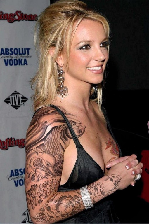Celebrity Tattoos Women