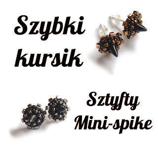 http://koralikowaweraph.blogspot.com/2013/04/mini-spike-ciag-dalszy-i-kursik-jak-ich.html