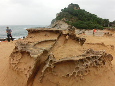 Unique Geological Formation at Yehliu Geopark