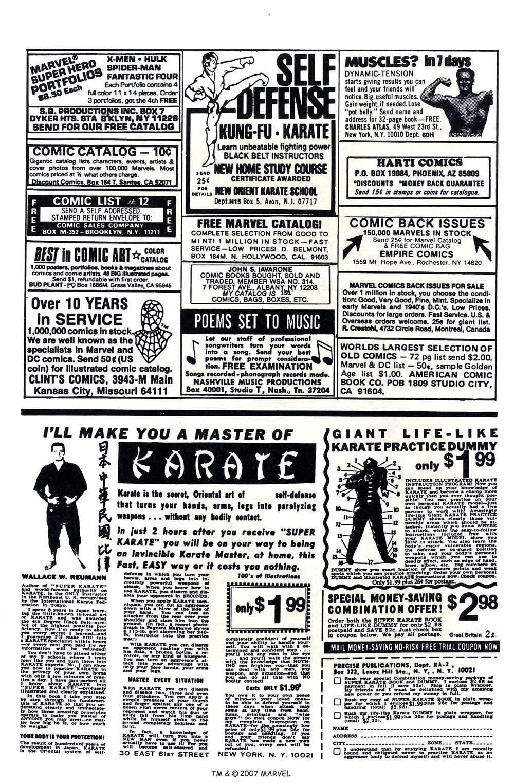 Captain America (1968) Issue #260 #175 - English 35