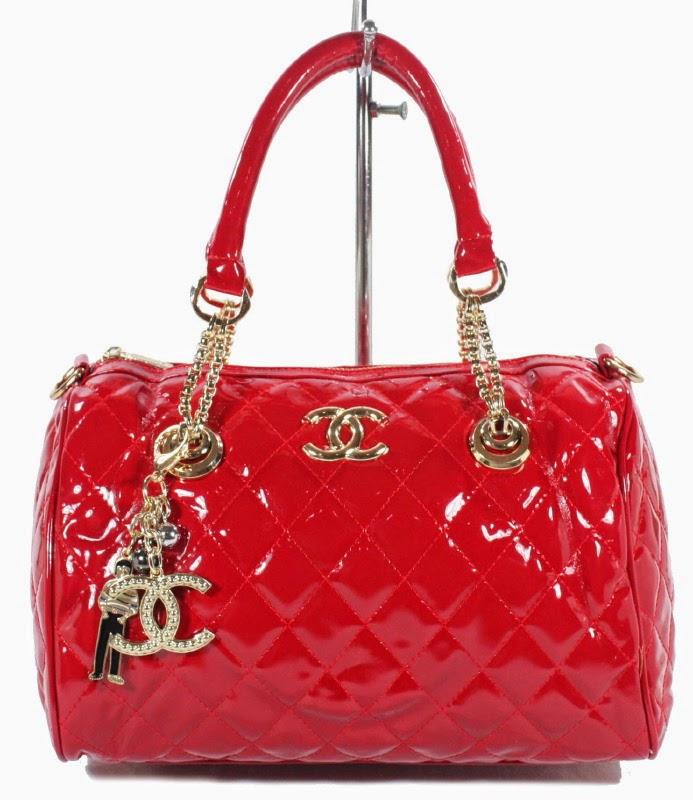 Tas Chanel C2169 Merah (Aneka Produk Tas Wanita)
