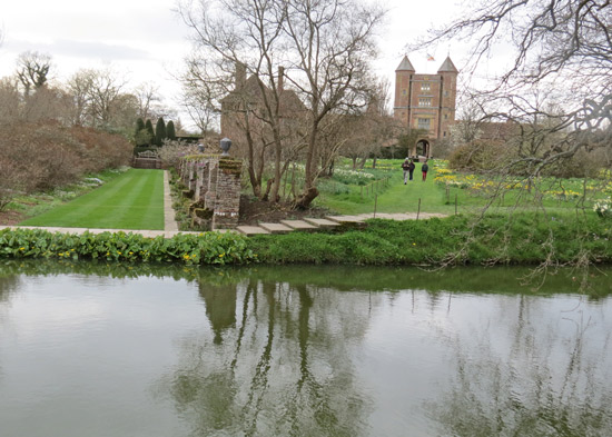 The Moat Walk, Moat and Tower at Sissinghurst