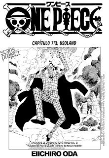 One Piece 713 Português Mangá Leitura Online Agaleradosanimes.net