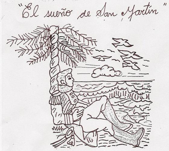 colorear 7 de Junio día de la bandera de Perú, colorear el sueño