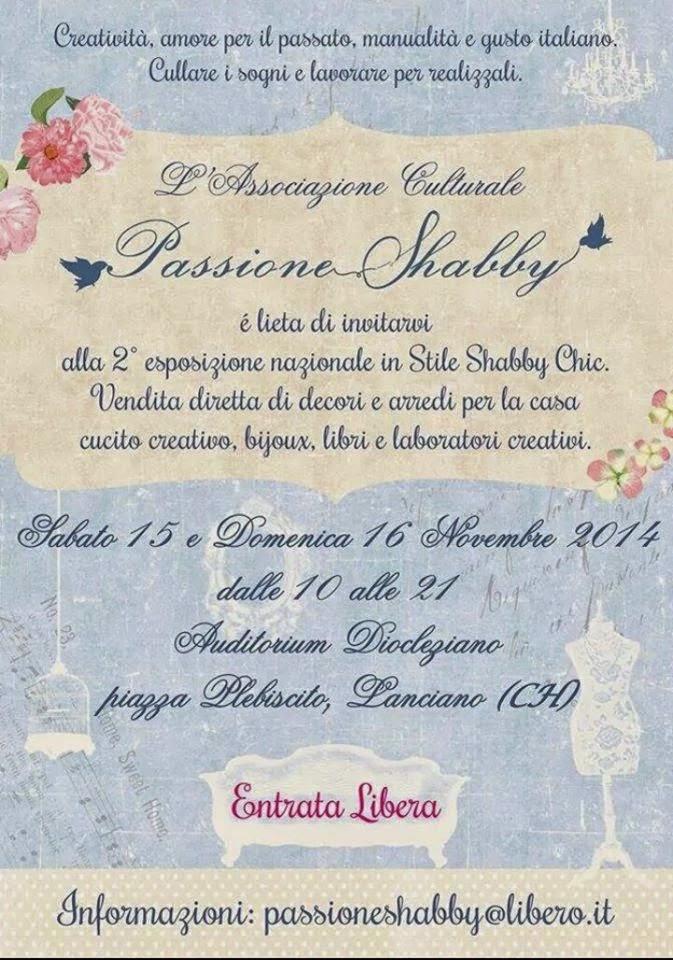 Locandina Evento Passione Shabby