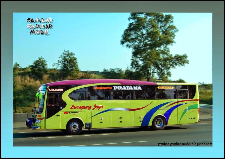 foto mobil bus luragung jaya