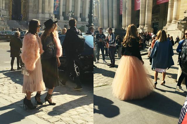 Paris Fashion Week Mugler SS16 street style