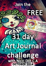 31 Day Art Journal Challenge