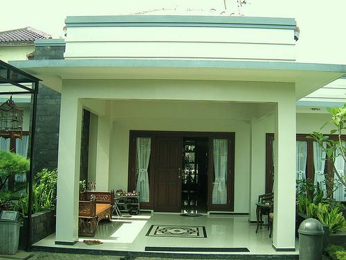 PERENCANAAN RUMAH IDAMAN: Desain Teras rumah