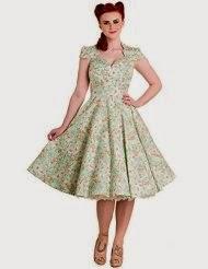 Mint Colored Swing Dress