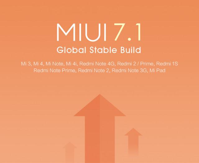 Update Xiaomi MIUI V7.1 sudah digulirkan secara global via OTA