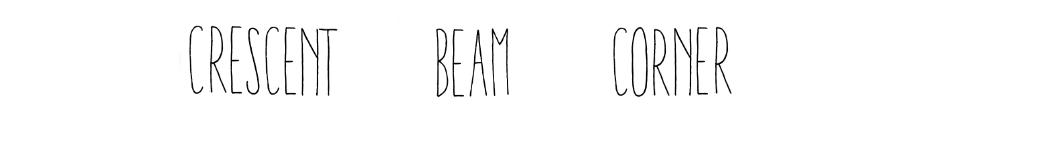 crescent beam corner