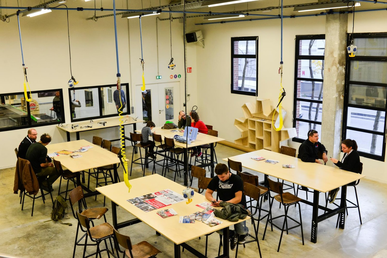 aerodyne visite du techshop ateliers de leroy merlin vitry. Black Bedroom Furniture Sets. Home Design Ideas