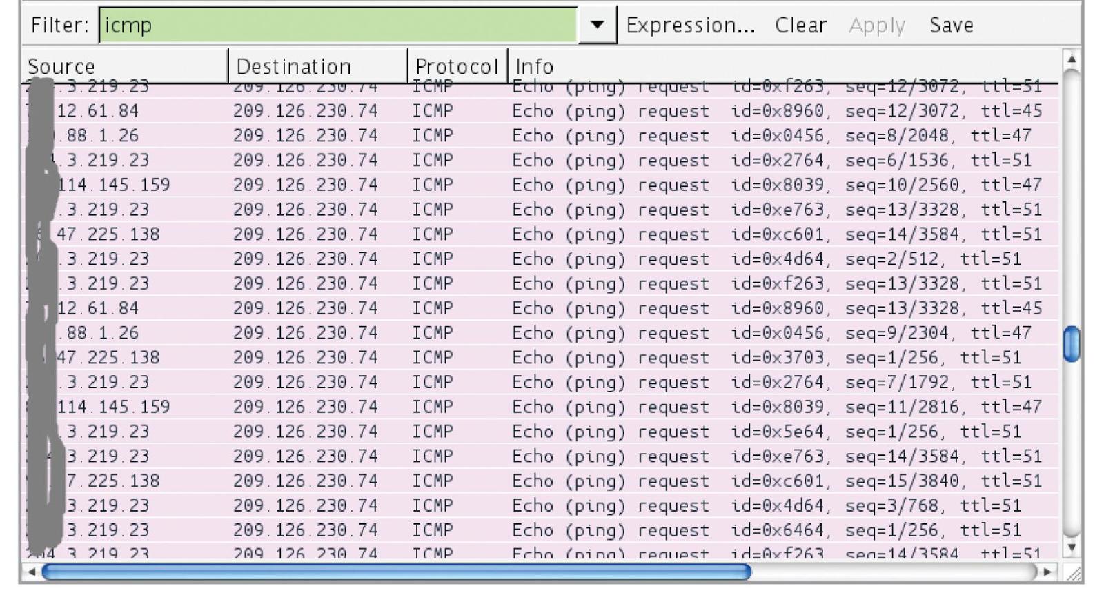 Список серверов, уязвимых к shellshock и ответивших на команду ping - shellshock vulnerable servers