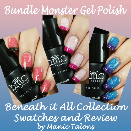 Bundle Monster Gel Polish Beneath It All Collection Review