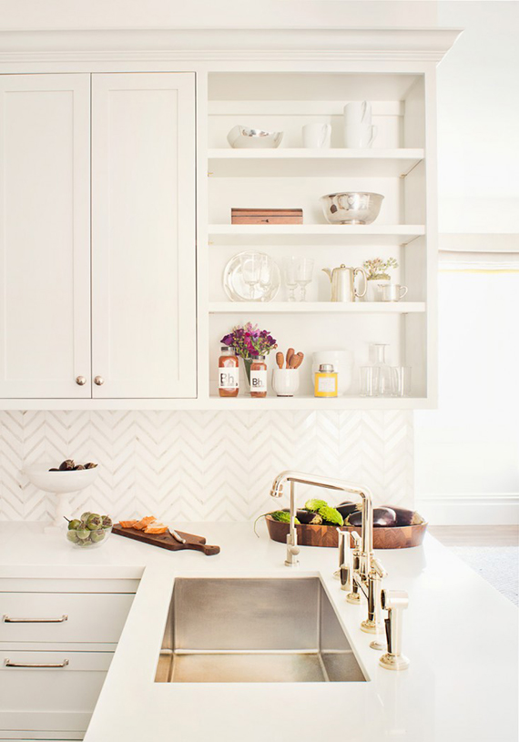 Kitchen design by Alison Davin of Jute. Photo by Drew Kelly via Remodelista