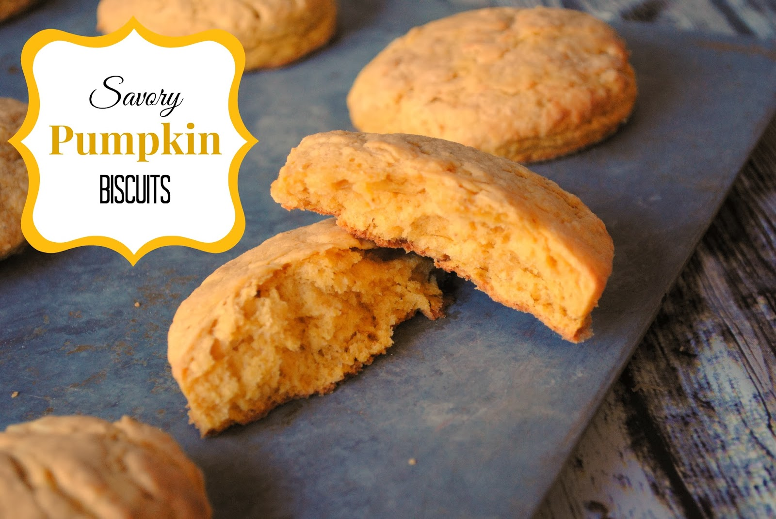 Savory Pumpkin Biscuits