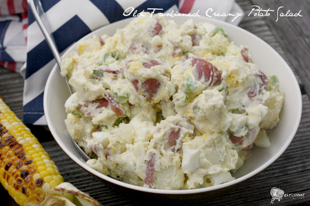 Old Fashioned Creamy Potato Salad
