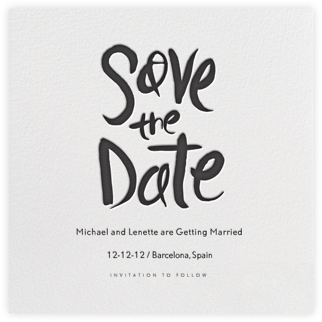 online save the date template free - charm events