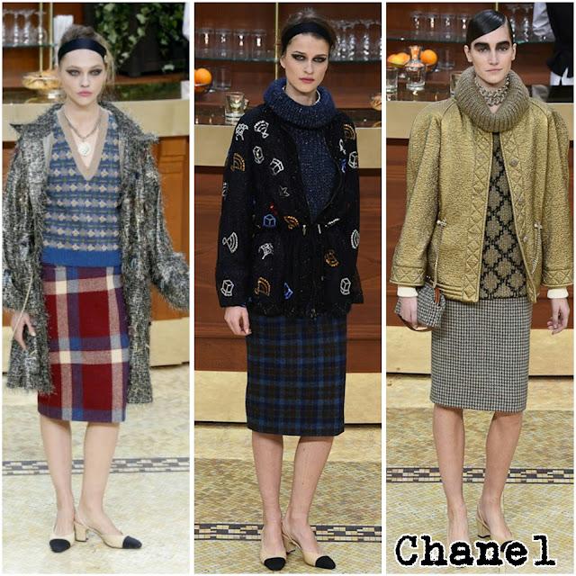 Vestirte con la ropa de tu abuela es la tendencia que invade este otoño invierno.