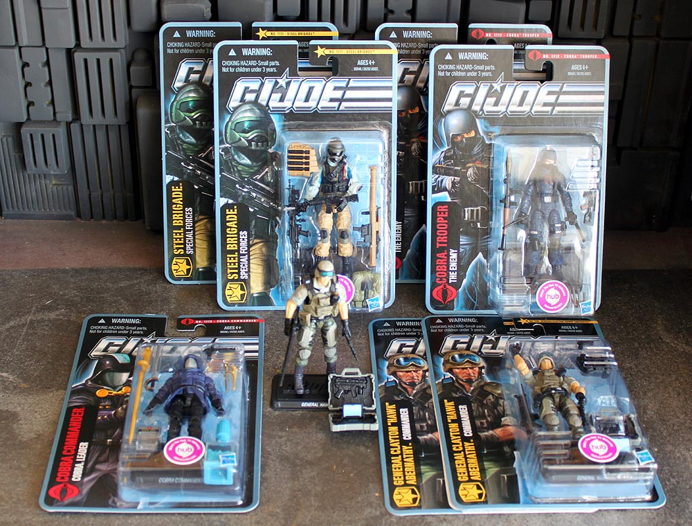 4 Kinds GI JOE B.A.T Android General Clayton Commander Blowtorch Your Choice